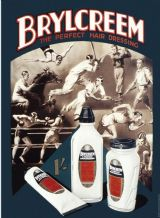 Brylcreem - A3 Metal Wall Sign
